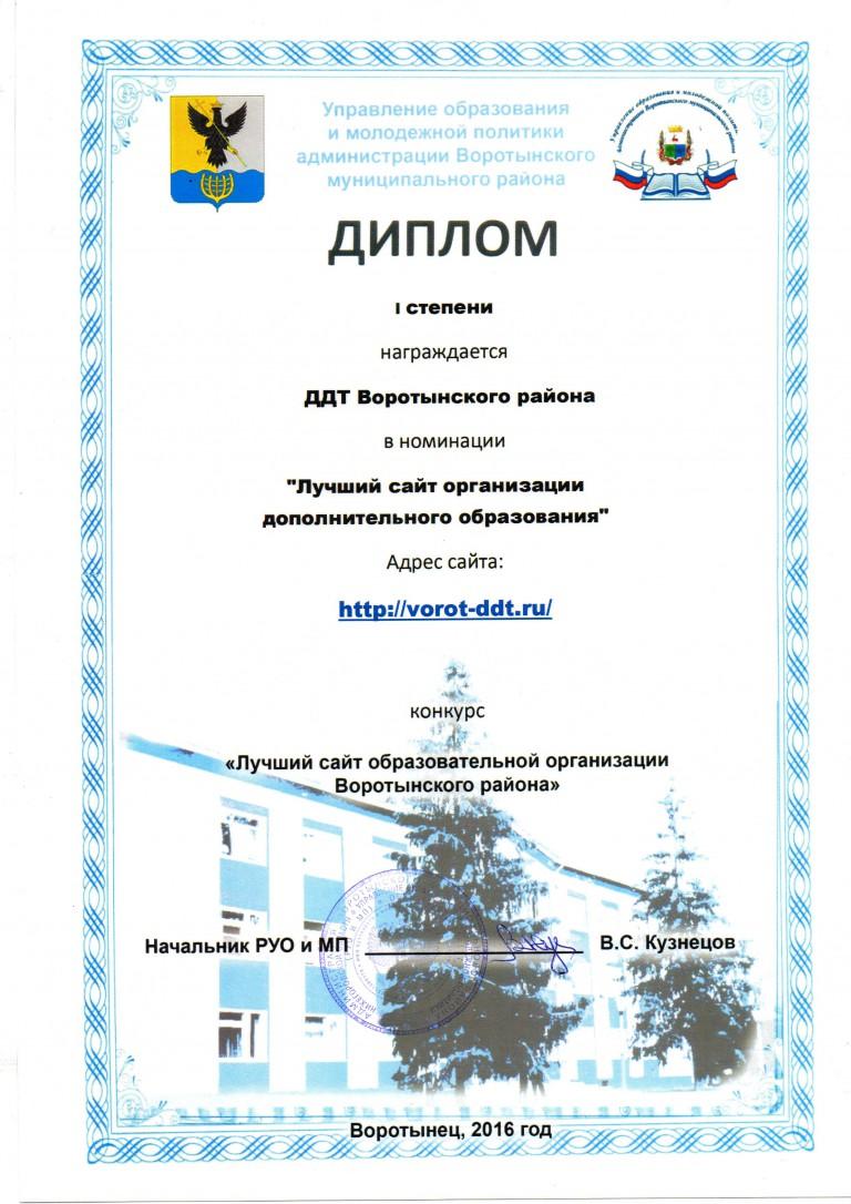 Сайты конкурсов департамента образования