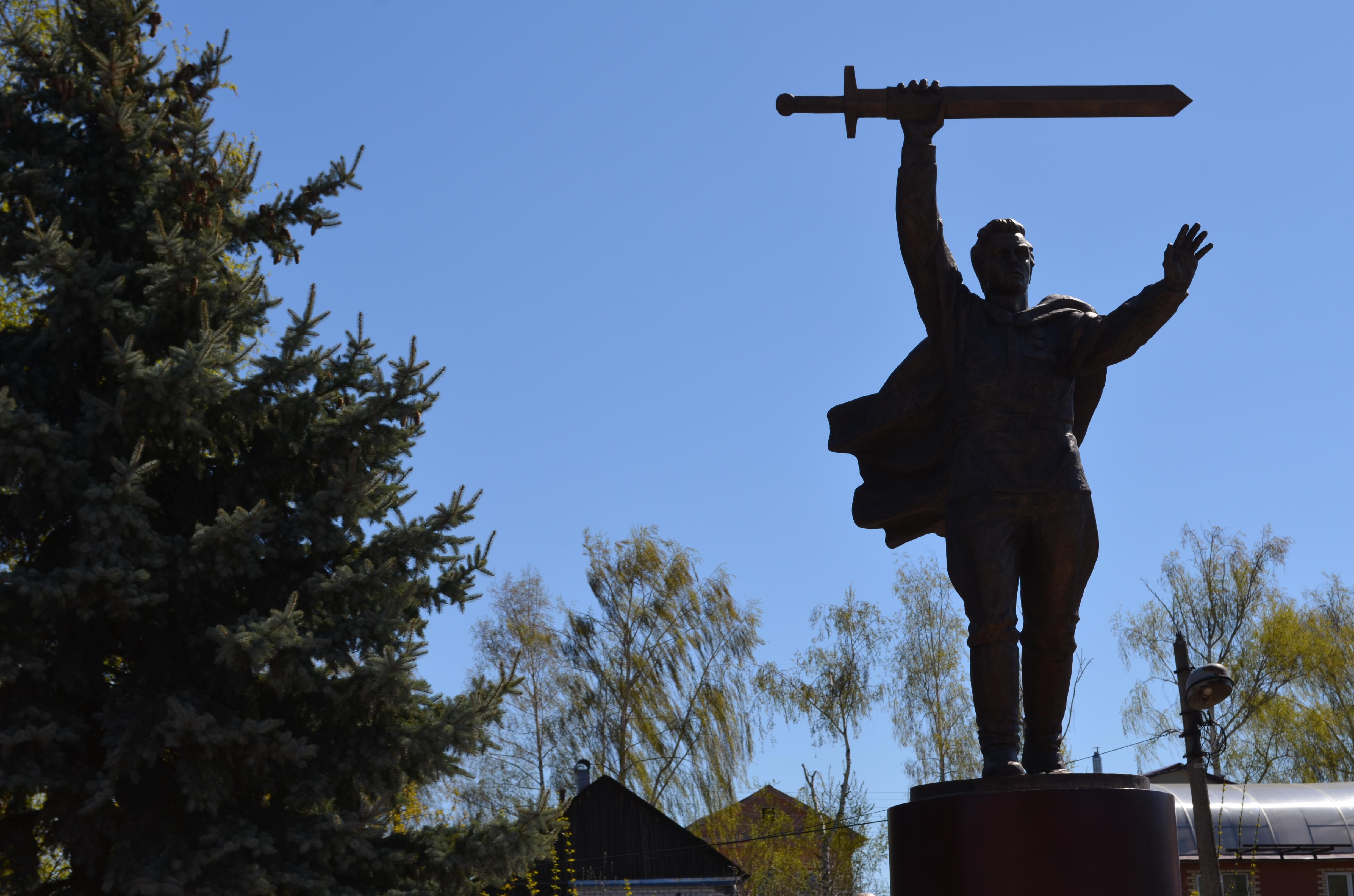 Мемориал памяти в р.п.Воротынец. Галуев Владимир